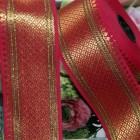 Galon indien - rouge grand modèle