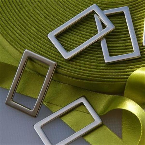 be0064ad46a6 Boucle étrier rectangulaire soudée argenté 3 cm - StandMercerie