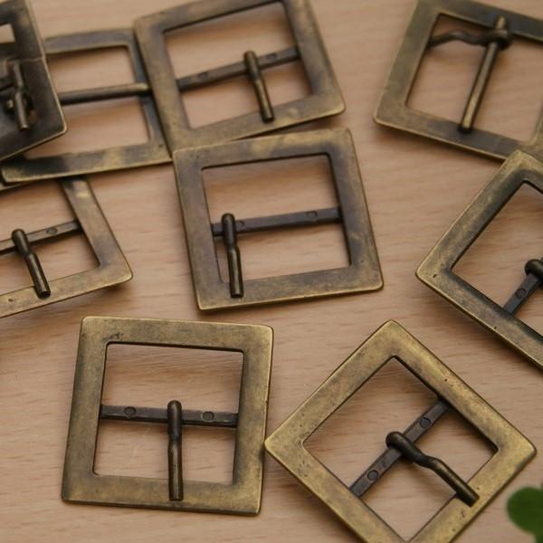 87aa34e71ba2 Boucle ceinture carrée - bronze - StandMercerie