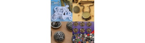 Boutons, Agrafes & pressions