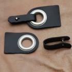 Boucle design  noir